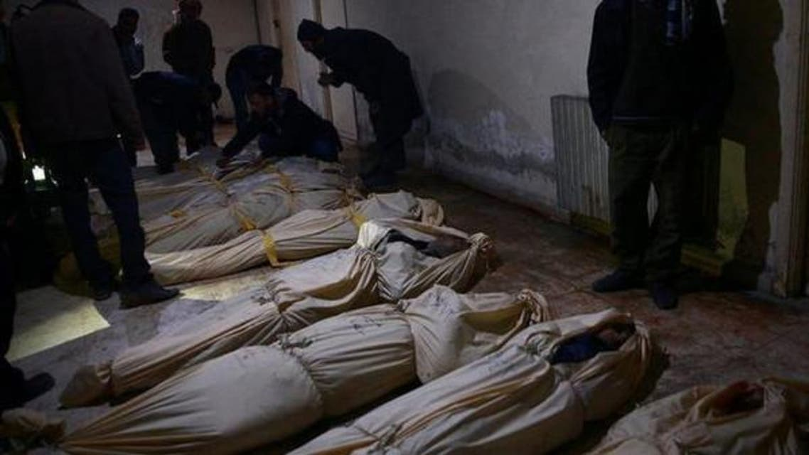 syrian bombarment