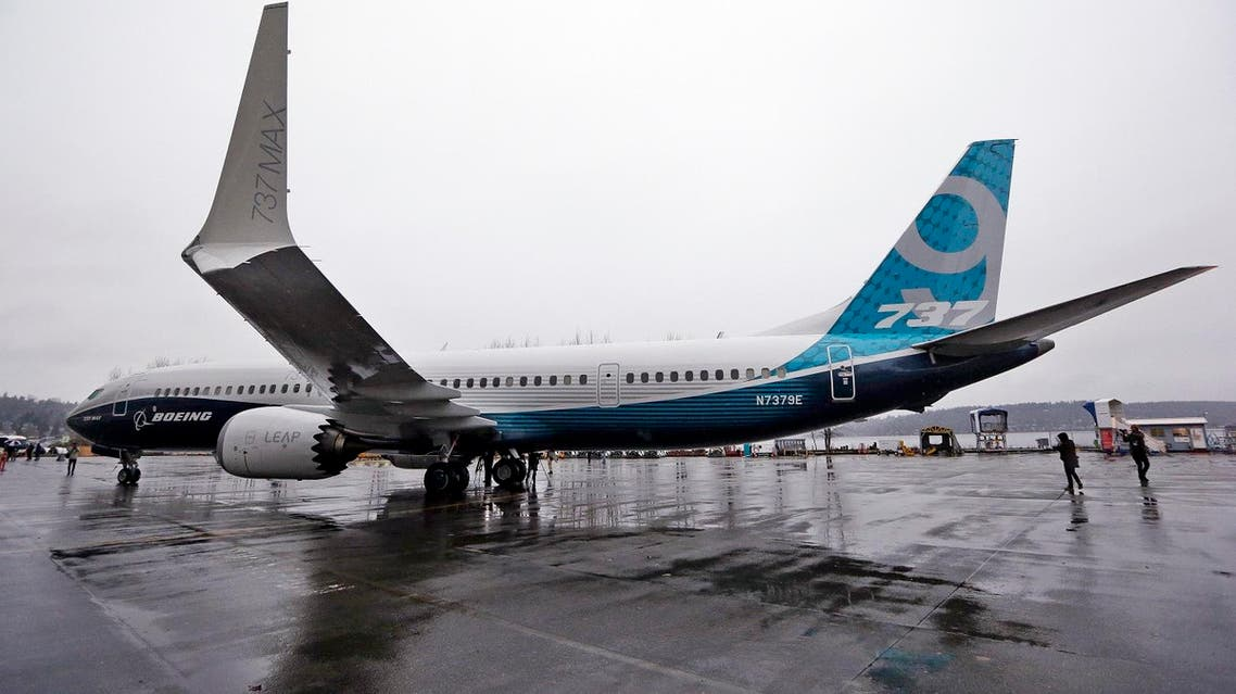 Boeing announced on April 4, 2017 that it has signed a new, $3 billion deal with Iran's Aseman Airlines for 30 Boeing 737 MAX aircraft. (AP)