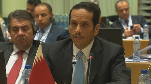 محمد بن عبد الرحمن آل ثاني وزير الخارجية القطري