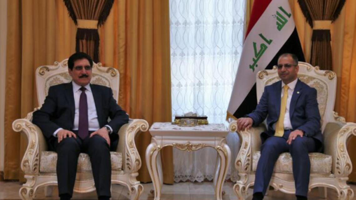 وفد كردي يلتقي الجبوري لبحث الأزمة بين بغداد وأربيل
