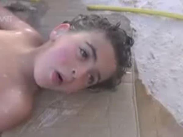الصورتان اللتان دفعتا ترمب للضربة في سوريا