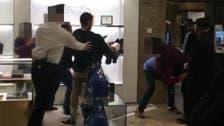 """قصة شجار مزدوج بالفيديو بين عرب متجر """"هارودز"""" في لندن"""