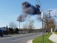 سقوط طائرة أف-16 أميركية في ماريلاند ونجاة الطيار