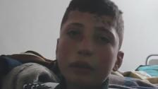 فيديو مؤثر..طفل يروي ما عاشه أثناء مجزرة الكيمياوي