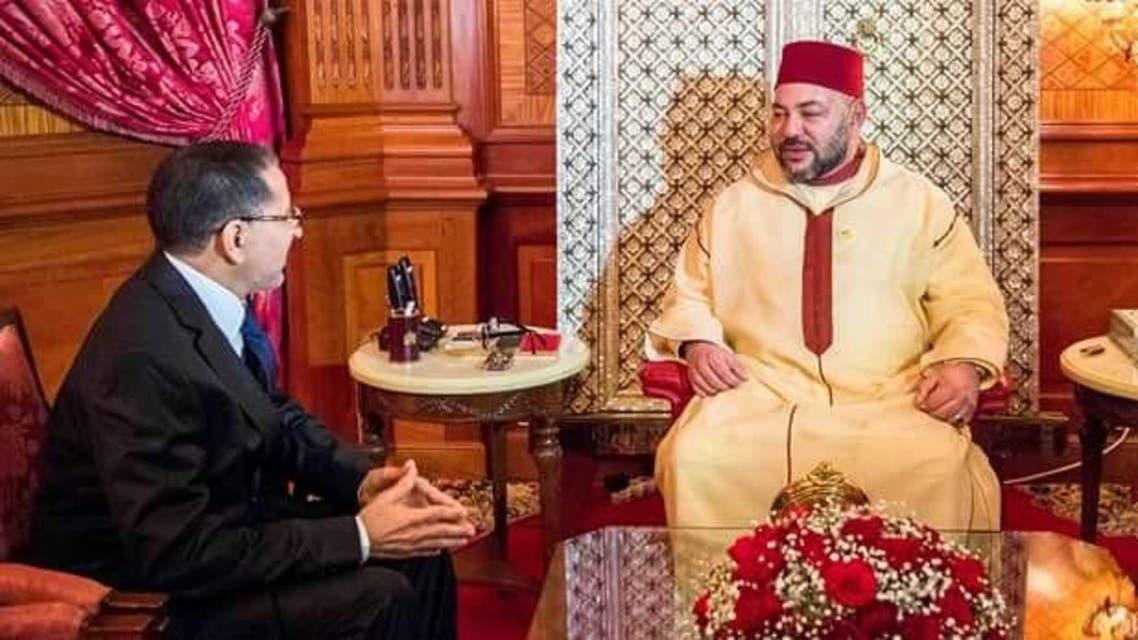 العاهل المغرب ورئيس الحكومة المكلف