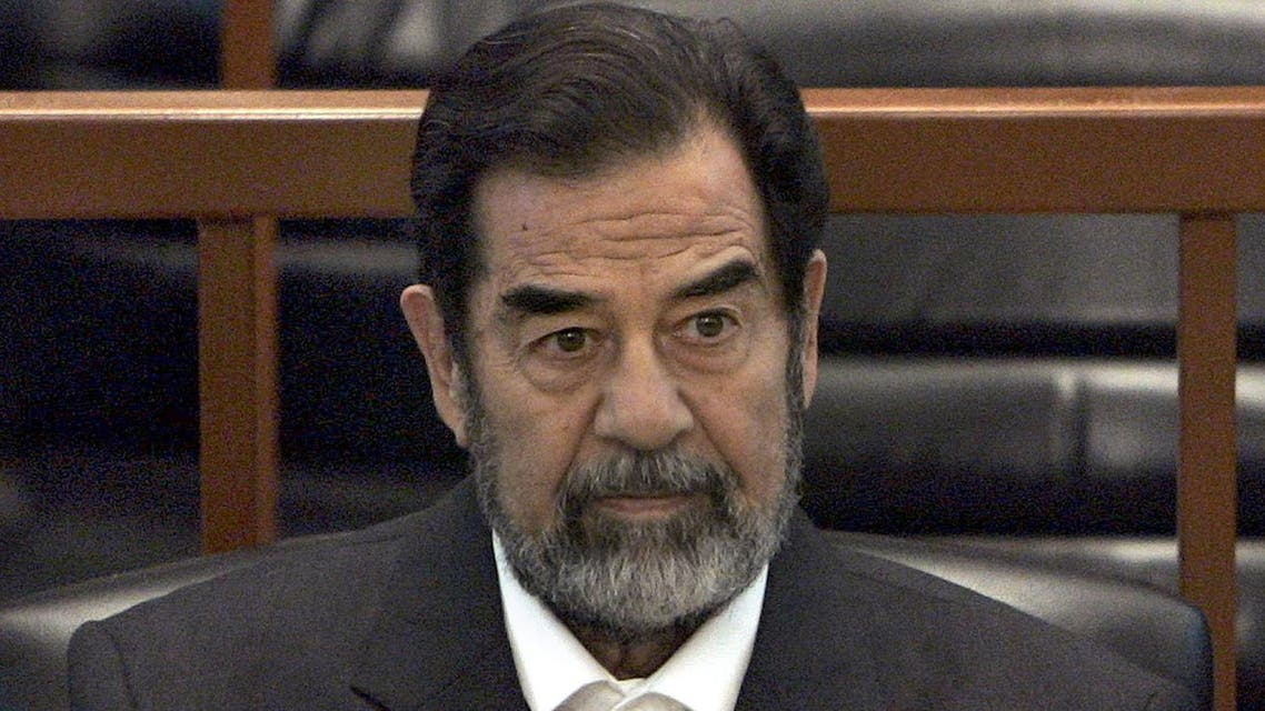 Judge Mounir Haddad, who chaired the trial of late Iraqi President Saddam Hussein, revealed new details related to the trial and about Saddam's last moments. (Al Arabiya)