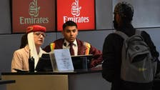 Emirates airline lends tablet computers to cope with US ban