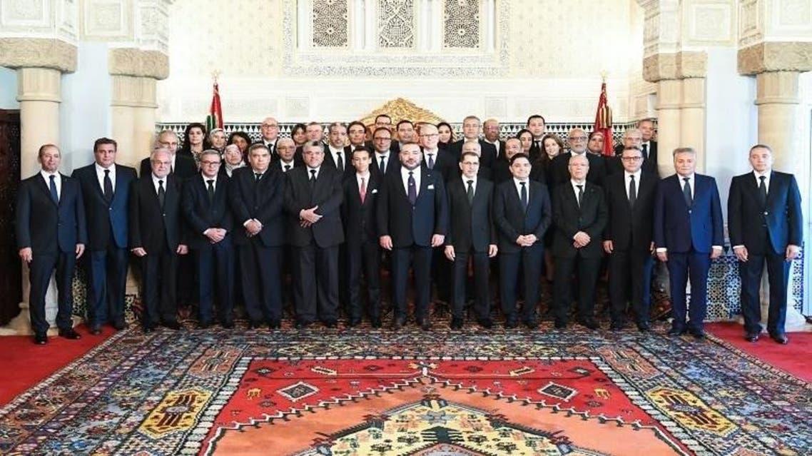 صورة للحكومة المغربية الجديدة برئاسة سعد الدين العثماني