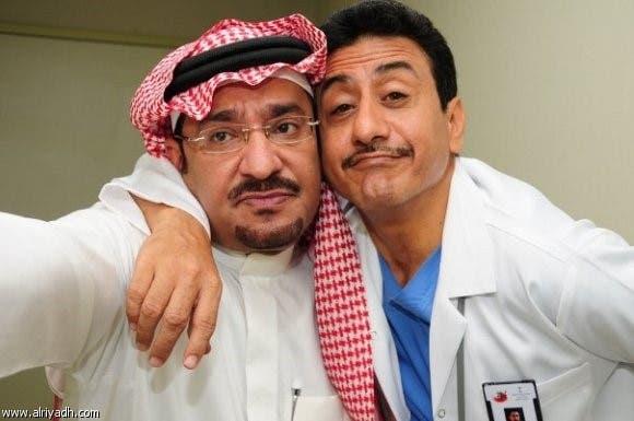 عبدالله السدحان مع ناصر القصبي