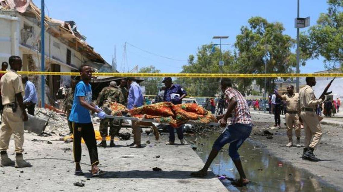 هجوم انتحاري في مقديشو