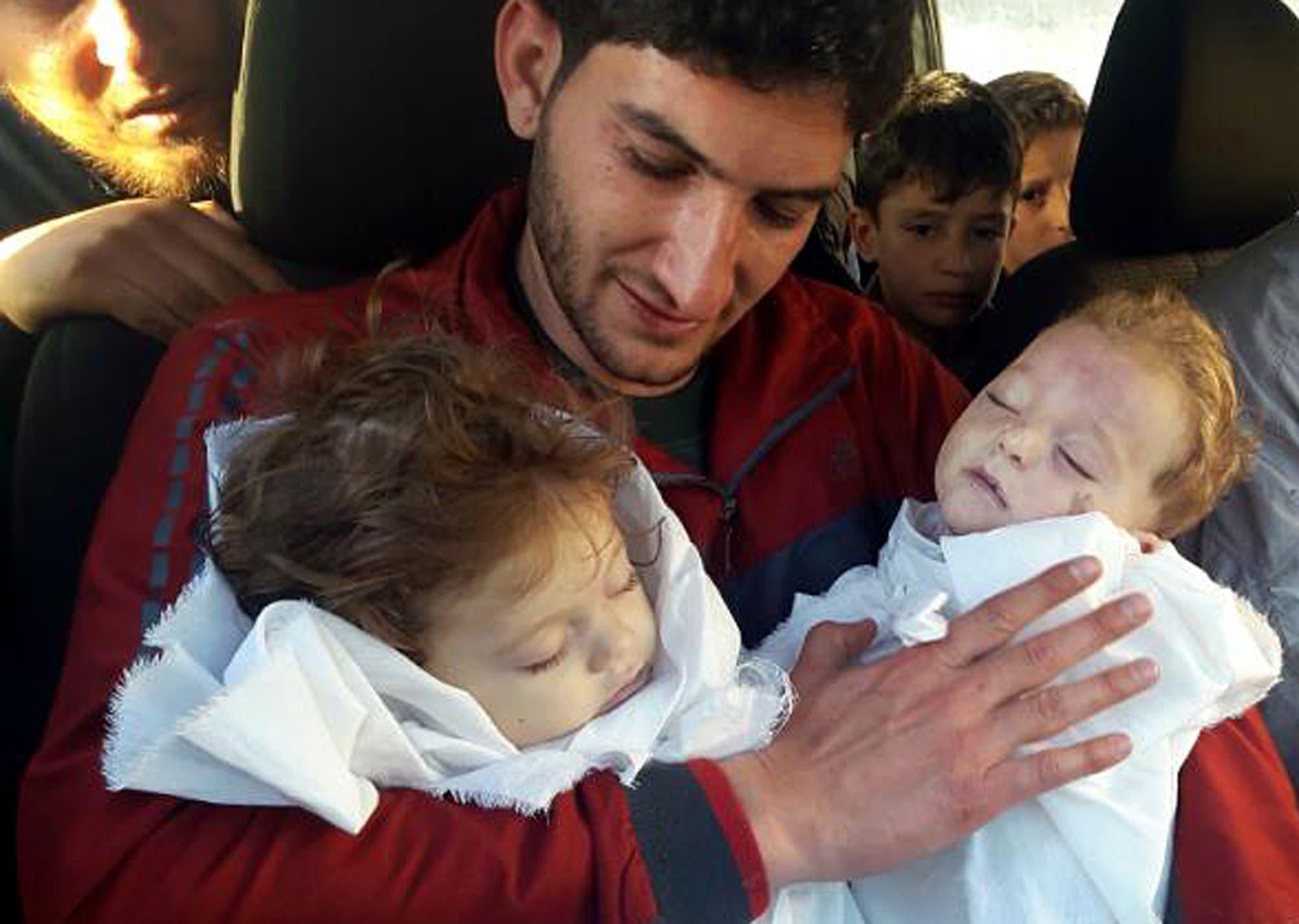 أسماء الأسد دافعت عن نظام الأسد في مجزرة خان شيخون الكيماوية