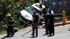 غربِ اردن: فلسطینی کا مبینہ کار حملہ، ایک اسرائیلی ہلاک ،ایک زخمی