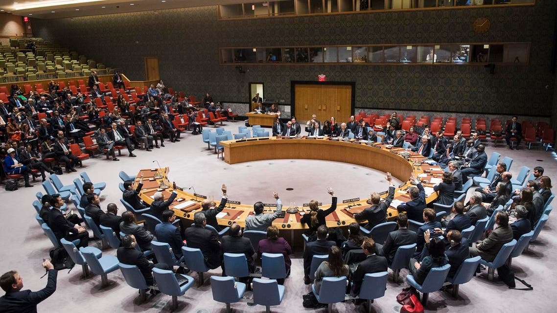 """Russia rejected the draft resolution as """"categorically unacceptable,"""" suggesting it is ready to veto the measure if no compromise text is agreed. (AFP)"""