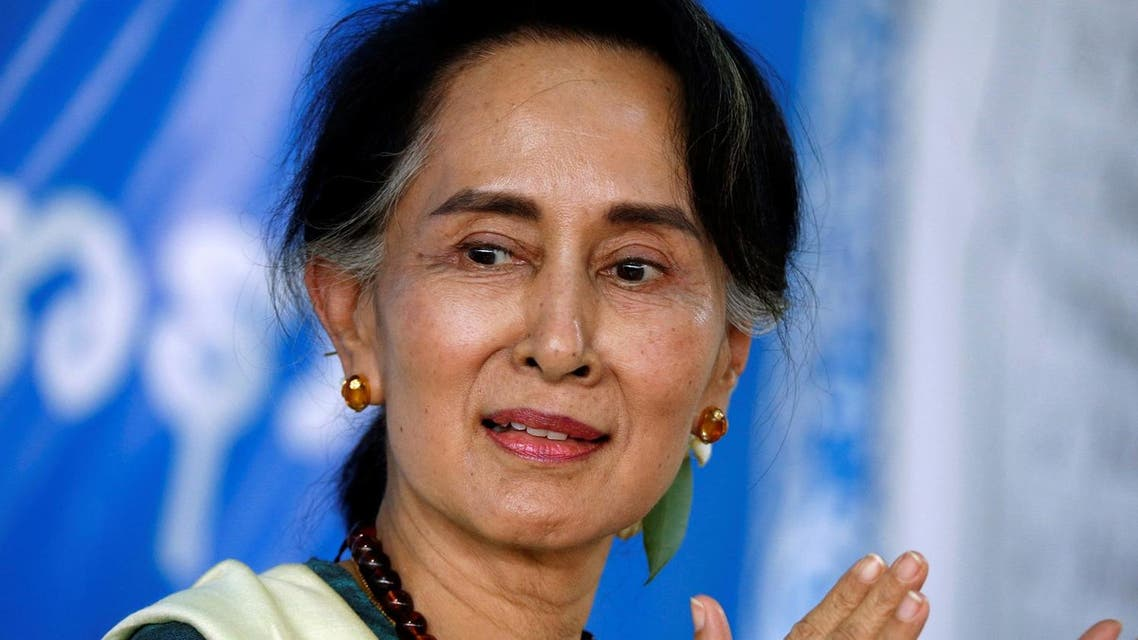 """I think ethnic cleansing is too strong an expression to use for what is happening,"" said Suu Kyi. (Reuters)"