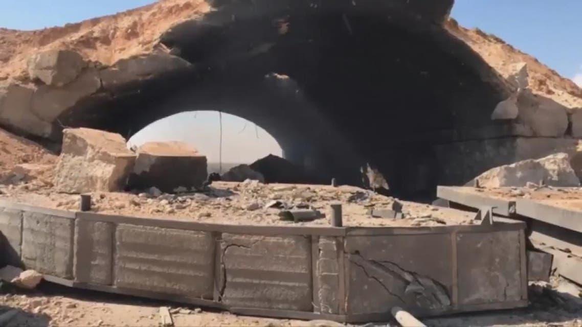 THUMBNAIL_ مشاهد جديدة من مطار الشعيرات بعد تعرضه للضربات الأميركية