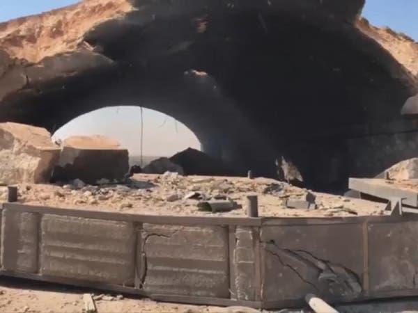 شاهد.. مطار الشعيرات العسكري بعد الضربة الأميركية
