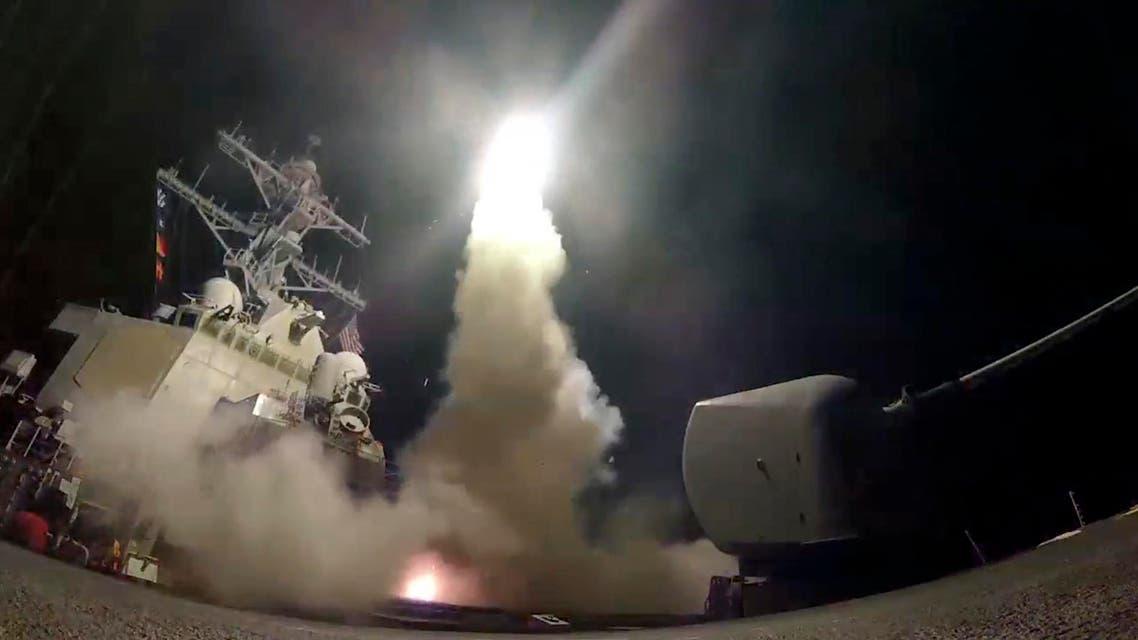 الضربة العسكرية الأميركية على قاعدة الشعيرات في حمص