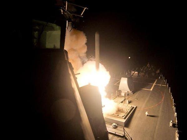 بالفيديو والصور.. إطلاق صواريخ أميركية على قاعدة سورية