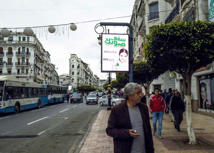 الحملة الانتخابية - الجزائر