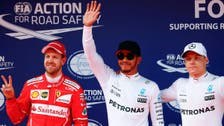 Hamilton captures 6th pole at Chinese GP with record time