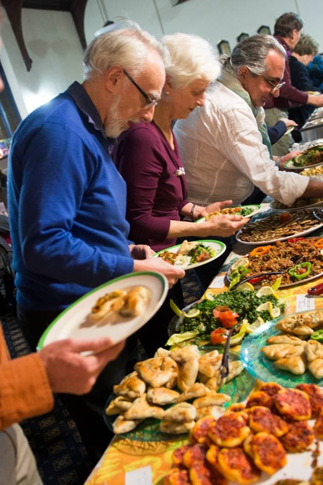 Since the first pop-up dinner event towards the end of 2016, the number of Vancouverites attending has surged, according to organizers. (Photo courtesy: Niveen Fouda)