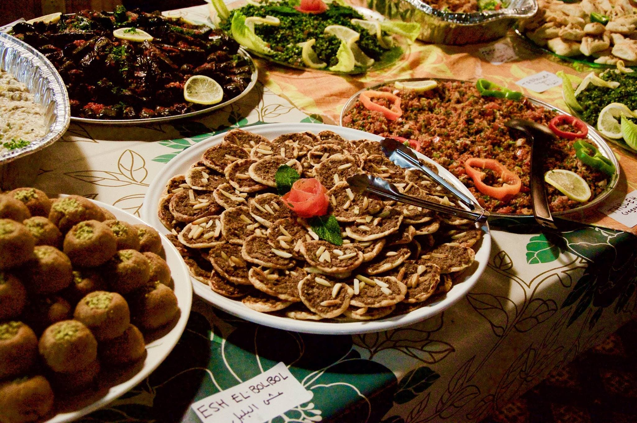 A dinner is hosted around once every four months and at a different location each time. (Photo courtesy: Dima Yassine)