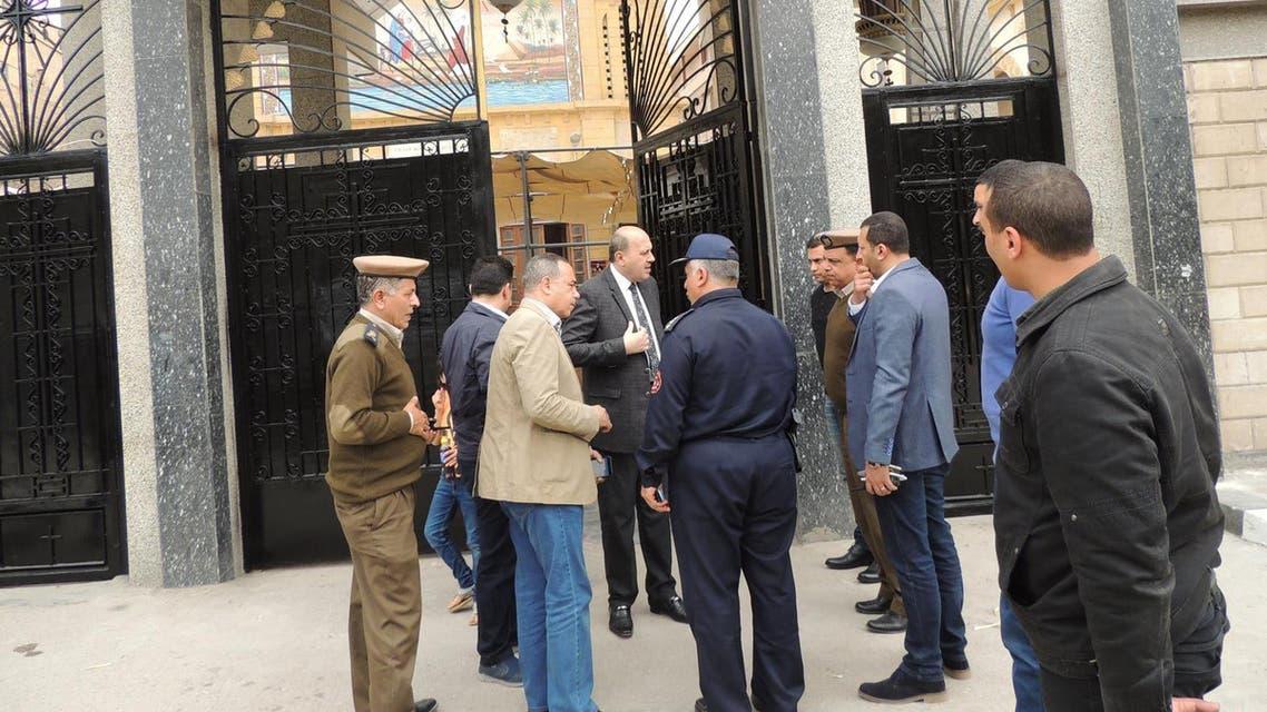 إجراءات أمنية كنائس مصر