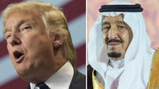 Trump and King Salman to stay in close contact ‎on range of regional issues