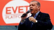 Erdogan holds giant Istanbul rally week ahead of referendum