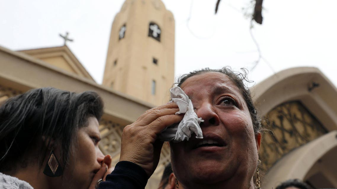 تفجير الكنيستين في مصر