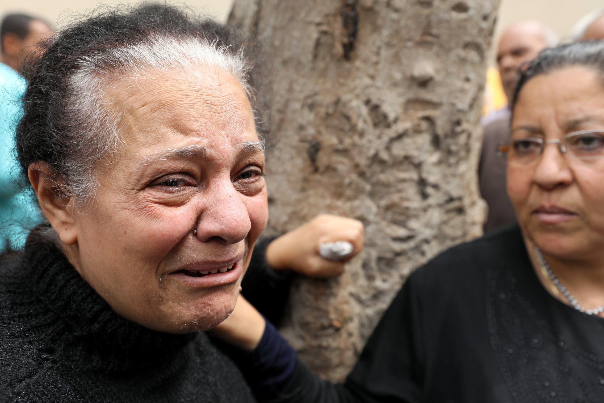 حزن بعد تفجيري الكنيستين في مصر