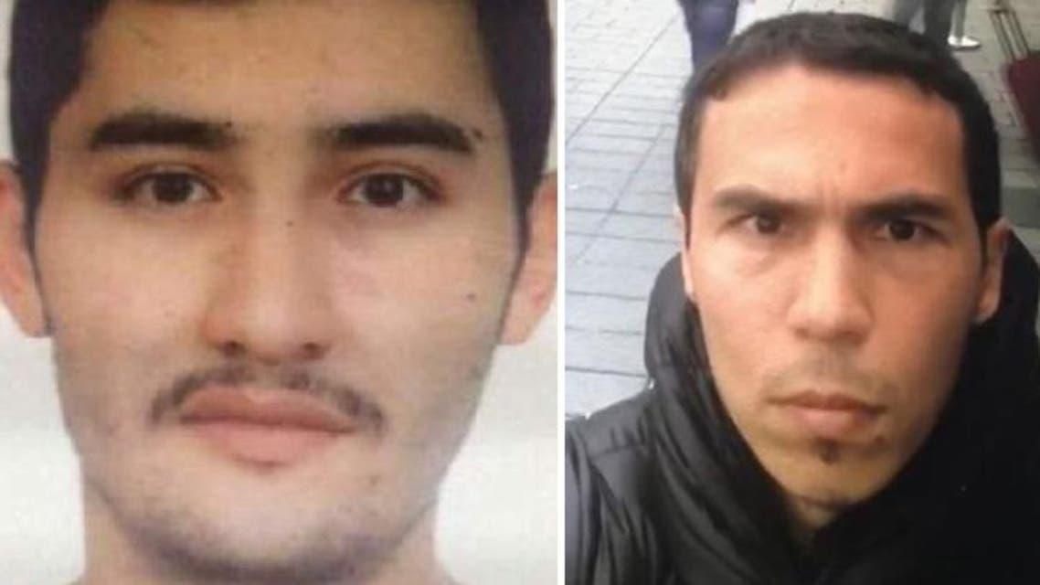 Uzbekistan-born Abdulkadir Masharipov (R) and Akbarjon Djalilov. (AFP/Supplied)