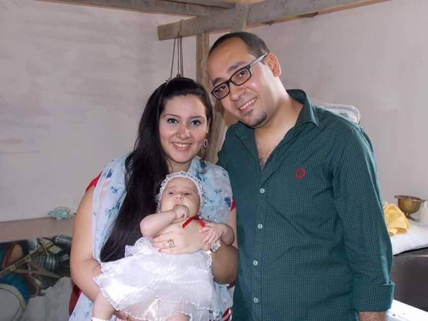 مايكل مع عائلته