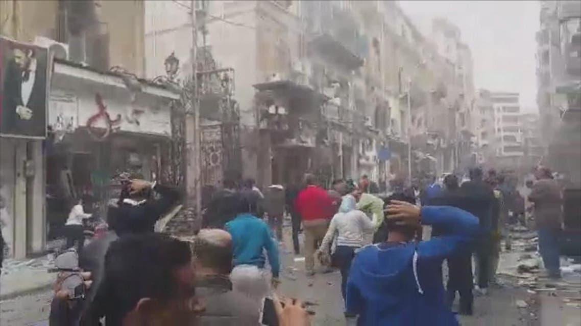 THUMBNAIL_ أول فيديو لتفجير كنيسة الإسكندرية