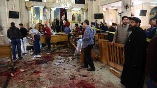شاهد تفجيري الكنيستين في مصر.. بالصور