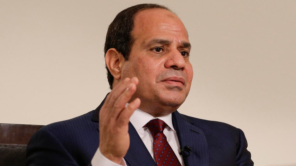 President Abdel Fattah al-Sisi declared a state of emergency in Egypt following twin church bombings. (File photo: AP)