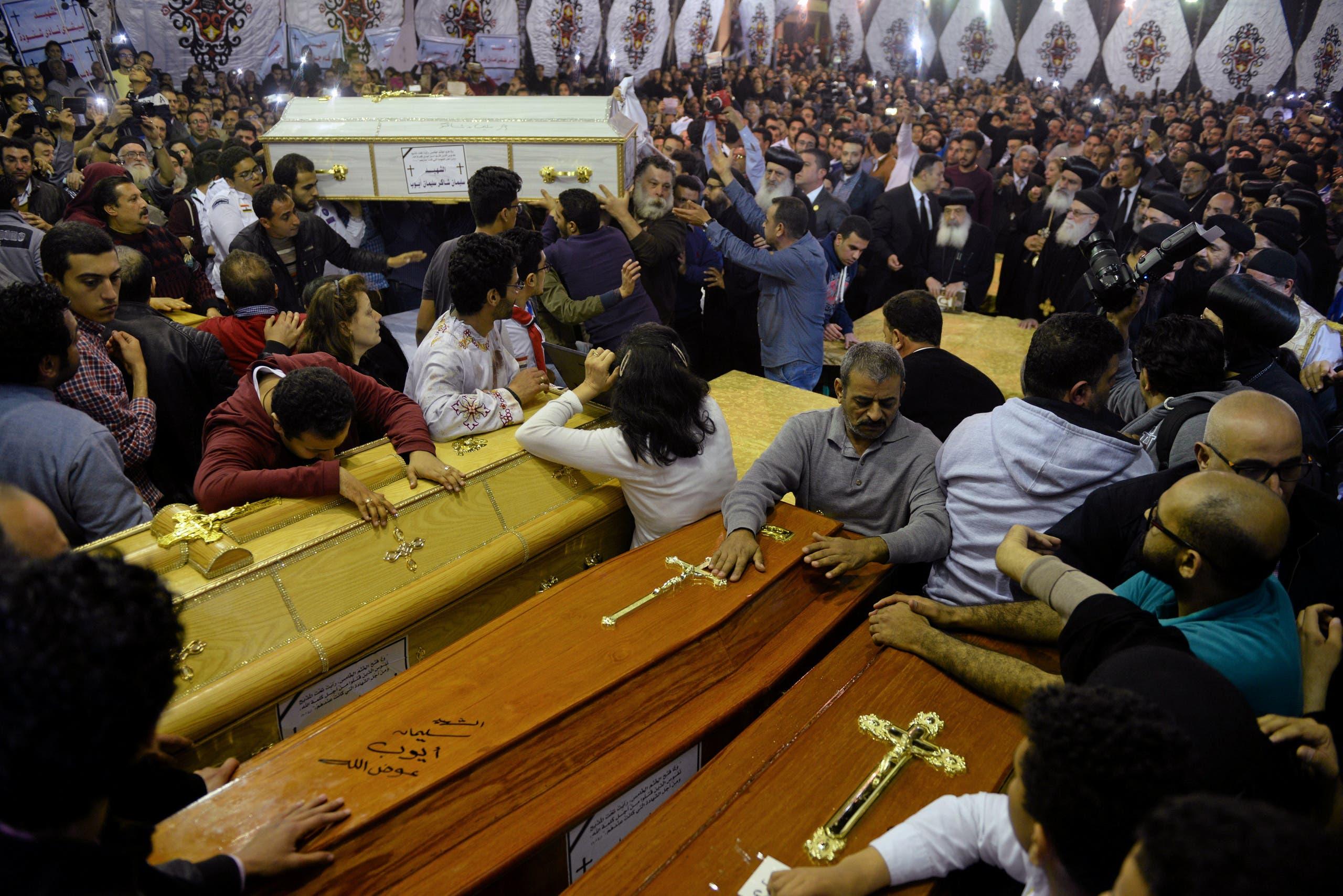 تشييع الضحايا - طنطا