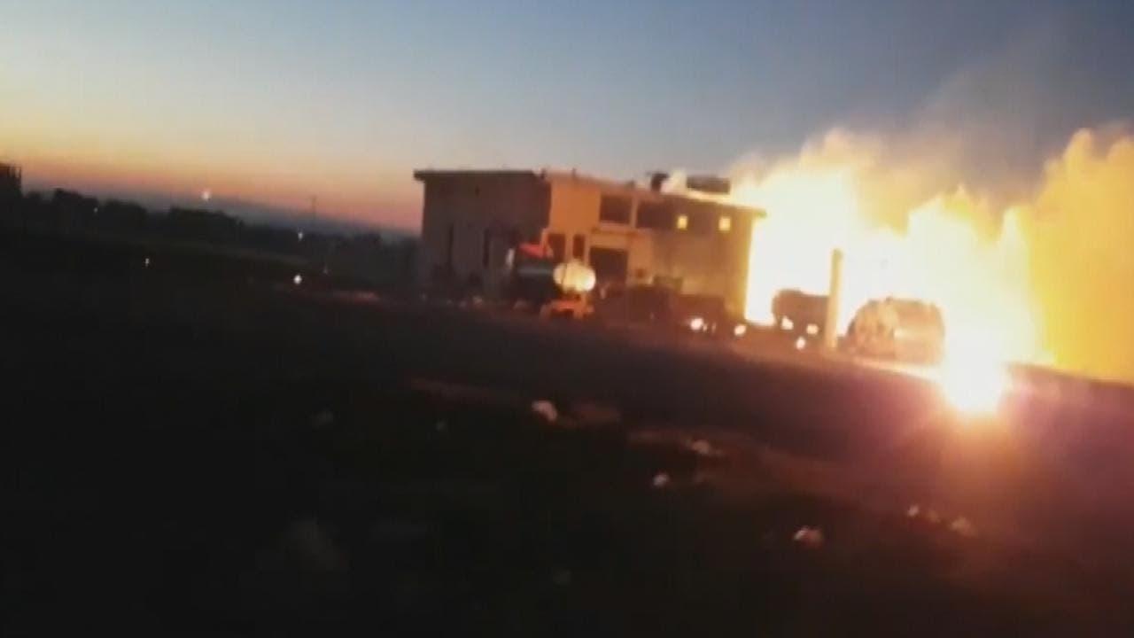بعد الكيمياوي.. غارات روسية بالفوسفور على ريف إدلب