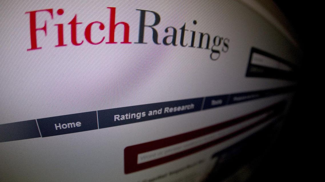 This picture taken on January 17, 2012 in Paris shows a close-up of a page of the Ratings agency Fitch website. (AFP)