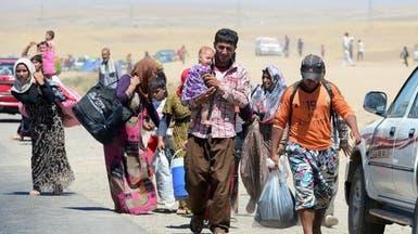 العراق.. أكثر من 400 ألف نازح من غرب الموصل