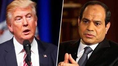 ترمب يجري اتصالاً بالسيسي بشأن الأزمة مع قطر