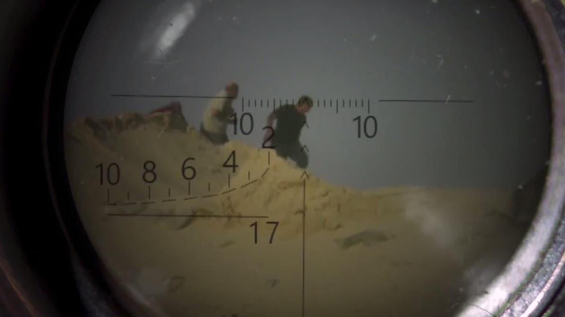 فيديو داعش يقنص مواطنين في سيناء