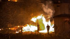Huge fire hits France's Grande-Synthe migrant camp