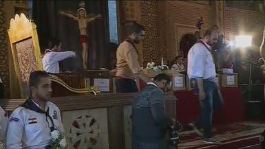 دفن سبعة جثامين لضحايا تفجير الكنيسة المرقسية في الاسكندرية