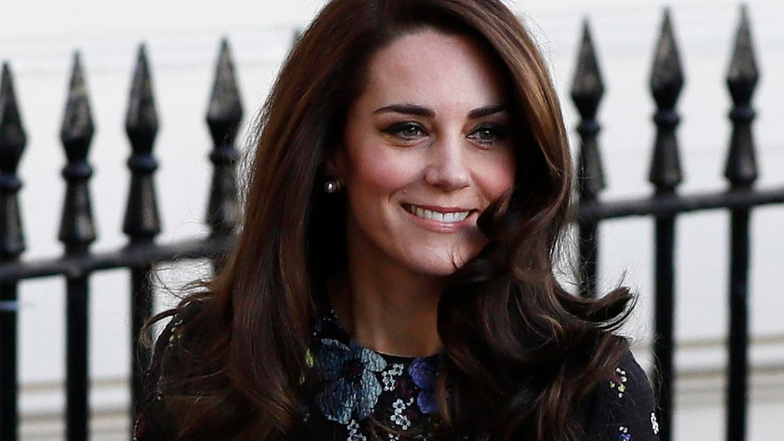 Catherine, Duchess of Cambridge arrives at the Institute of Contemporary Arts in central London, Britain January 17, 2017. (reuters)
