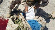 Video shows counter-terrorism team stop suicide bomber in Aden