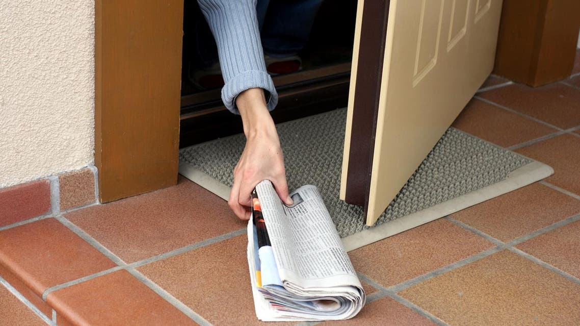 Newspaper delivery (Shutterstock)