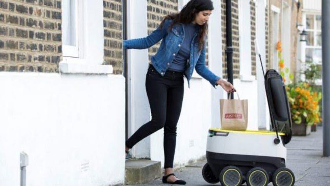 روبوت ديليفري