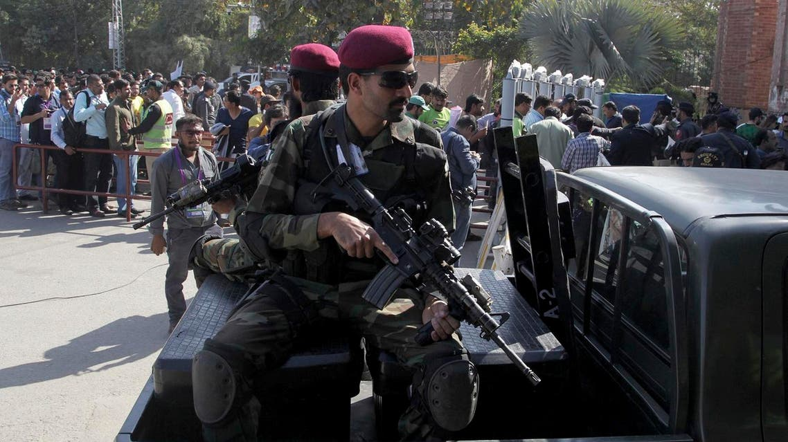 According to a news report, Uzair Baloch has been arrested in accordance with the Pakistan Army Act. (AP)