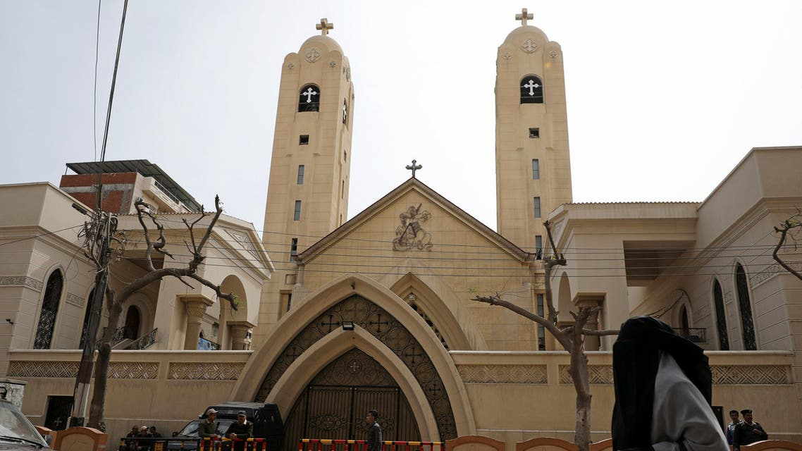 Egypt's Coptic Church announced cutting back on Easter celebrations to a simple mass after twin bombings. (Reuters)
